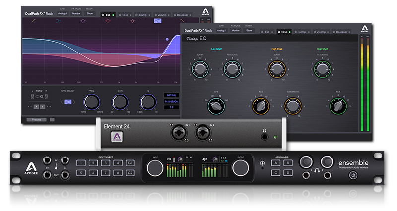 Apogee Dualpath FX Rack PlugIns